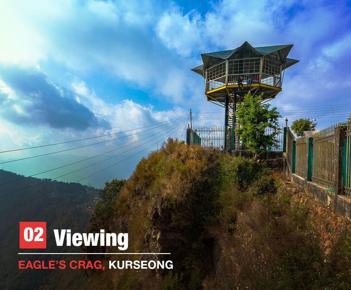 eagle's crag, kurseong